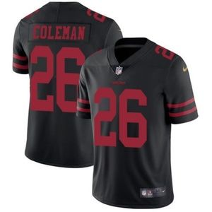 NFL Shirts - San Francisco 49ers Tevin Coleman Jersey